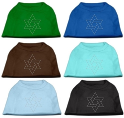 Star of David Rhinestone Shirts