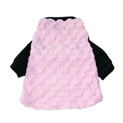 Roppongi Star T-Shirt - Lt Pink, Black Trim