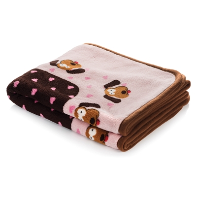 Snuggle Puppy Blanket - Pink