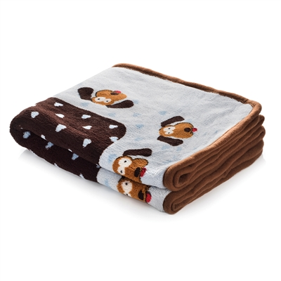 Snuggle Puppy Blanket - Blue