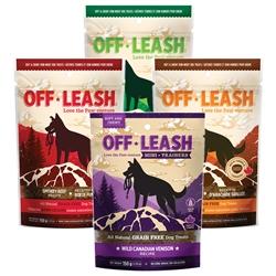 Off Leash Soft & Chewy Treats: GRAIN FREE!
