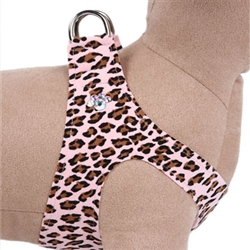 Pink Cheetah Couture - Crystal Paw Step In Harness
