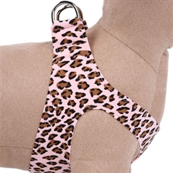Pink Cheetah Couture - Plain Step-In Harnesses