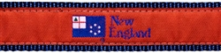 "New England Flag- 1.25"" Collars, Leashes and Harnesses"