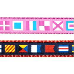 "A-Z Code Flags- 3/4"" Collars, Leashes and Harnesses"