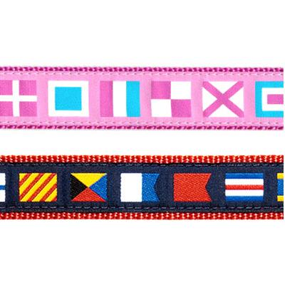 "A-Z Code Flags- 1.25"" Collars, Leashes and Harnesses"