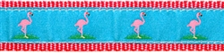 "Flamingo- 1.25"" Collars, Leashes and Harnesses"