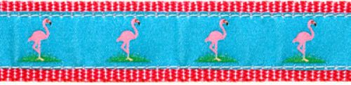 "Flamingo- 3/4"" Collars, Leashes and Harnesses"