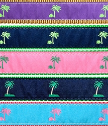 """Palm Tree- 1.25"""" Collars, Leashes and Harnesses"""