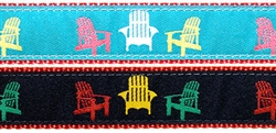 """Adirondack Chair-  3/4"""" Collars, Leashes and Harnesses"""