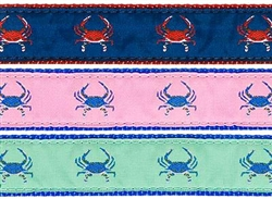"Crab- 1.25"" Collars, Leashes and Harnesses"