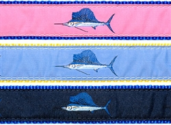 "Sailfish- 1.25"" Collars, Leashes and Harnesses"