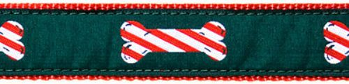"""Peppermint Stick- 1.25"""" Collars, Leashes and Harnesses"""