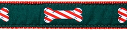"Peppermint Stick- 3/4"" Collars, Leashes and Harnesses"