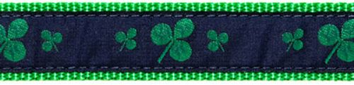 "Shamrock- 3/4"" Collars, Leashes and Harnesses"