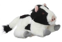 """Look Who's Talking 7"""" Cow Dog Toy by Multipet"""