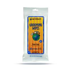 earthbath® Grooming Wipes, Mango Tango®, Cleans & Conditions, 28 ct re-sealable travel package