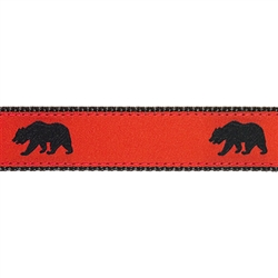 "Black Bear - 1.25"" Collars, Leashes and Harnesses"