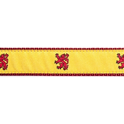 "Scottish Rampant Lion - 3/4"" Collars, Leashes and Harnesses"