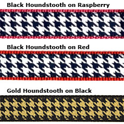 "Houndstooth - 3/4"" Collars, Leashes and Harnesses"