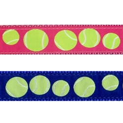 "Tennis Balls - 1.25"" Collars, Leashes and Harnesses"