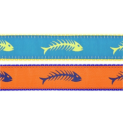 """Fishbones - 3/4"""" Collars, Leashes and Harnesses"""