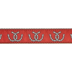 "Horse Shoe - 1.25"" Collars, Leashes and Harnesses"