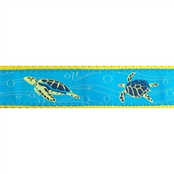 "Sea Turtle - 3/4"" Collars, Leashes and Harnesses"