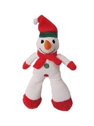 """CHR TuffPuff® Long Leg Snowman 12"""""""