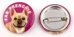 """Fab Frenchie"" Buttons"
