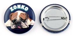 """""""Zonko"""" Bulldog Buttons"""