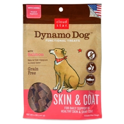 5 oz Salmon Dynamo Dog Skin & Coat