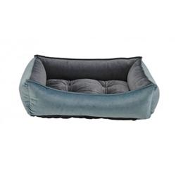 Scoop Bed Harbour Blue Microvelvet (Ash)