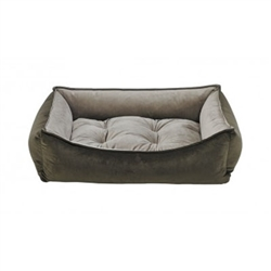 Scoop Bed Hickory Microvelvet (Pebble)