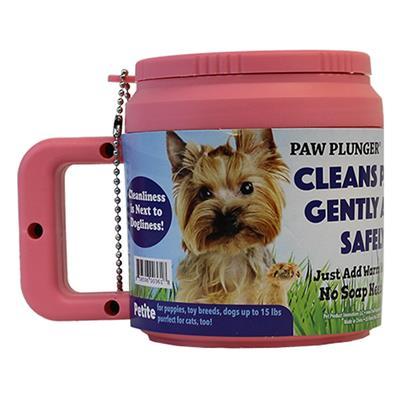 Pink Petite Paw Plunger