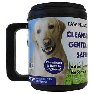 Black Large Paw Plunger
