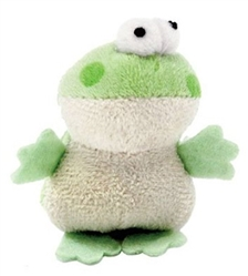 """MultiPet - Look Who's Talking Cat Toys - 1.25"""" Frog"""