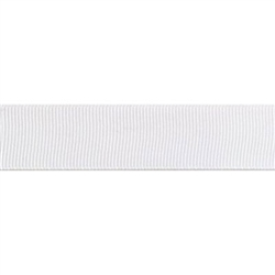 "White Grosgrain - 1.25"" Collars and Leashes"