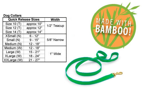 Custom Embroidered Green Market Collar