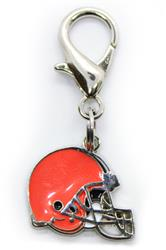 Cleveland Browns Logo Dog Collar Charm