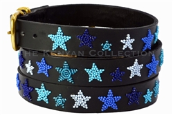Indigo Stars Collar & Leash Collection