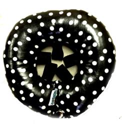 Rainy Day Bumper - Black Dot