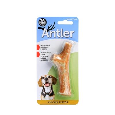 Chicken Flavor Nylon Antlers