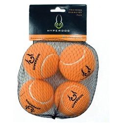 4 Packs of Hyper Dog Tennis Balls