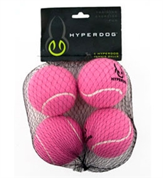4 Pack Hyper Dog Mini Tennis Balls