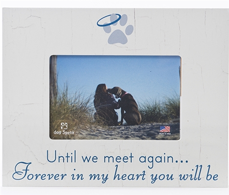 "Until We Meet Again 7.5"" x 9.5"" Picture Frame"