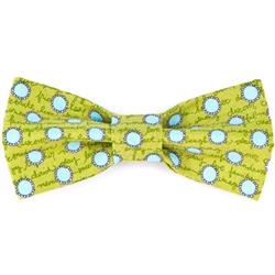 Bow Tie - Green/Aqua Dots