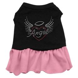 Angel Heart Rhinestone Dress