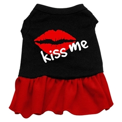 Kiss Me Screen Print Dress