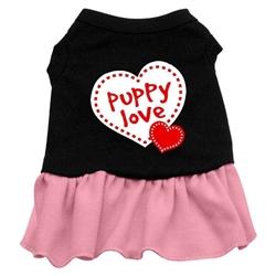 Puppy Love Screen Print Dress